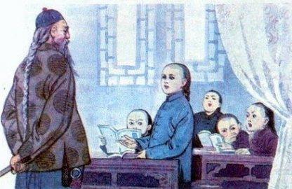 组图:80年代小学语文课本插图 泛黄的童年记忆