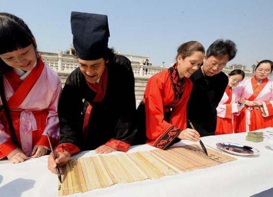 外国小伙伴都来中国学什么
