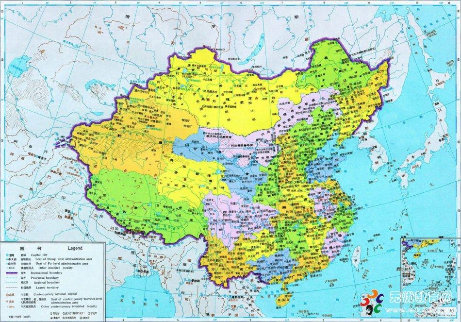 中国朝代版图 中国历史上版图最大的朝代图片